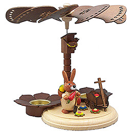 1 - Tier Easter Pyramid Natural  -  20cm / 7.9 inch