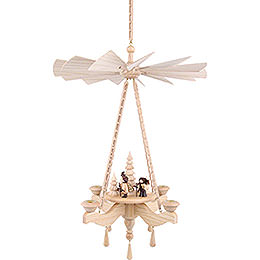 1 - Tier Hanging Pyramid Forest People  -  65x42cm / 25.6x16.5 inch