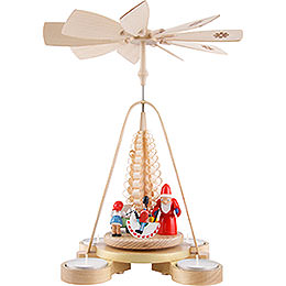 1 - Tier Pyramid  -  Gift Giving  -  25cm / 9.8 inch