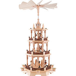 3 - Tier Pyramid  -  Forest People  -  58cm / 22.8 inch