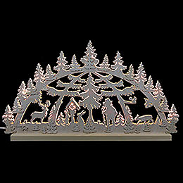 3D Double Arch  -  Forest Scene  -  72x40x5,5cm / 28x16x2 inch