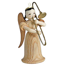 Angel Long Skirt with Sliding Trombone, Natural  -  6,6cm / 2.6 inch