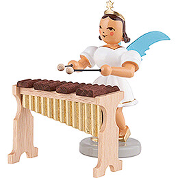 Angel Short Skirt Colored, with Xylophone  -  6,6cm / 2.6 inch