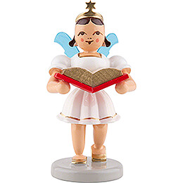 Angel Short Skirt with Storybook  -  Colored  -  6,6cm / 2.6 inch