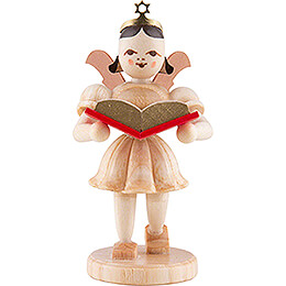 Angel Short Skirt with Storybook  -  Natural  -  6,6cm / 2.6 inch