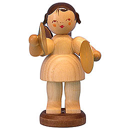 Angel with Cymbal  -  Natural Colors  -  Standing  -  9,5cm / 3,7 inch