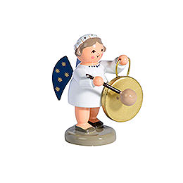 Angel with Gong  -  5cm / 2 inch