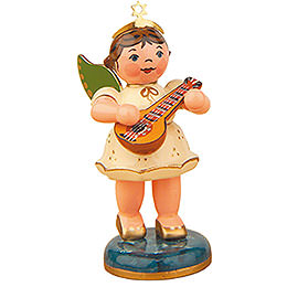 Angel with Mandolin  -  6,5cm / 2,5 inch