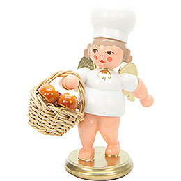 Baker Angel with Breadbasket  -  7,5cm / 3 inch