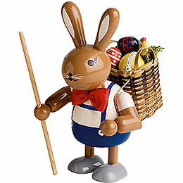 Bunny with Basket  -  11cm / 4 inch