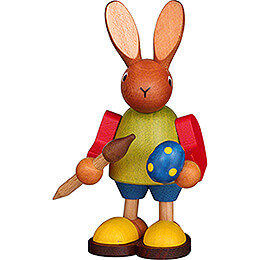 Bunny with Brush  -  8,5cm / 3.3 inch
