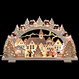 Candle Arch  -  Christmas Time  -  53x31x4,5cm / 21x8x1.8 inch