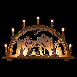 Candle Arch  -  Nativity  -  66x41cm / 26x16.1 inch