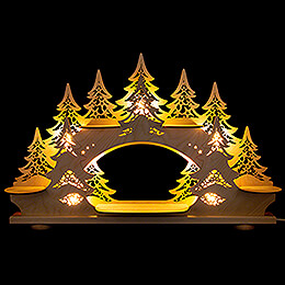 Collector Candle Arch  -  without Figurines  -  68x43cm / 26.8x16.9 inch