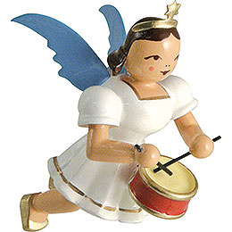 Floating Angel Colored, Drum  -  6,6cm / 2.6 inch