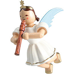 Floating Angel Colored, Flute  -  6,6cm / 2.6 inch