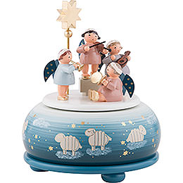 Music Box Angels Concert  -  16cm / 6 inch