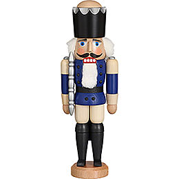 Nutcracker  -  King Glazed Blue  -  29cm / 11.4 inch