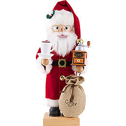 Nutcracker  -  Santa Claus Coffee Lover  -  46,5cm / 18.3 inch