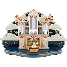 Organ for Hubrig Angel Orchestra without Music Box  -  36x13x21cm / 14x5x8 inch
