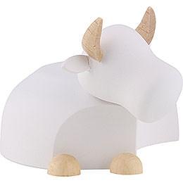 Ox White/Natural  -  Large  -  6,0cm / 2.4 inch