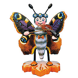 Peacock Butterfly Violin  -  8cm / 3 inch