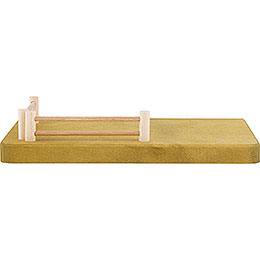 Side Part for Nativity Stable  -  Fence  -  20x4cm / 7.9x1.6 inch