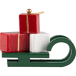 Sleigh with Presents  -  2,4cm / 0.9 inch