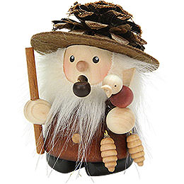 Smoker  -  Coney Natural Wood  -  9cm / 4 inch
