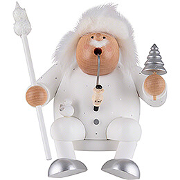 Smoker  -  Father Frost  -  Edge Stool  -  16cm / 6.3 inch
