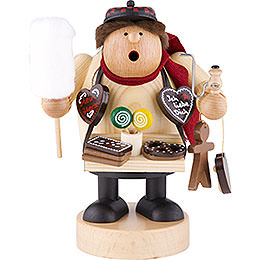 Smoker  -  Gingerbread Salesman  -  18cm / 7 inch