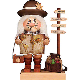Smoker  -  Gnome Globetrotter  -  29,5cm / 11.6 inch