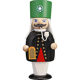 Smoker  -  Miner with Miner's Lamp  -  15cm / 5.9 inch