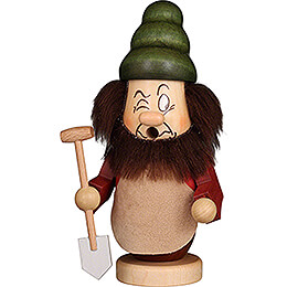 Smoker  -  Mini Gnome Grumpy  -  15cm / 5.9 inch