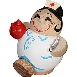 Smoker  -  Nurse  -  Ball Figure  -  11cm / 4 inch