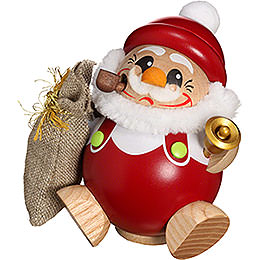 Smoker  -  Santa Claus  -  Ball Figure  -  12cm / 5 inch