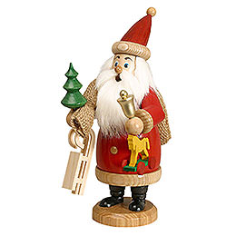 Smoker  -  Santa Claus Red with Presents  -  20cm / 8 inch
