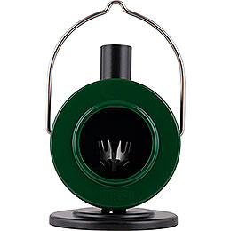 Smoking Stove Disc Oven Green/Black  -  12cm / 4.7 inch