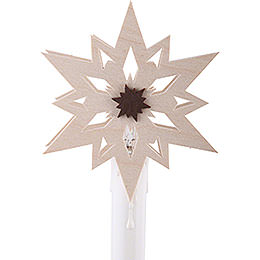 Stars (10 Pcs) Attachment for Candle Arch  -  Eletrical Candles  -  8,5cm / 3 inch