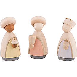 The Three Wise Men Colored  -  Large  -  10,0cm / 4.0 inch