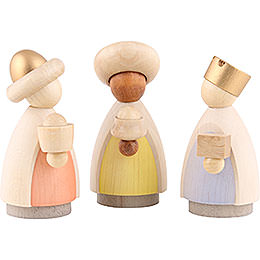 The Three Wise Men Colored  -  Small  -  7cm / 2.8 inch