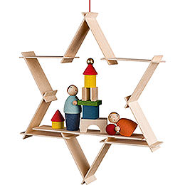 Tree Ornament  -  Children with Toys  -  9,5cm / 3.7 inch