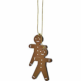 "Tree Ornament  -  ""Gingerbread Man""  -  5cm / 2 inch"