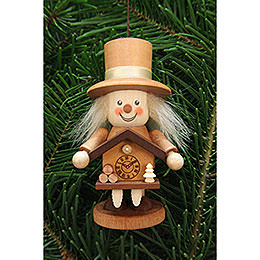 Tree Ornament  -  Rascal Black Forester Natural  -  10,5cm / 4.1 inch