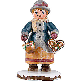 Winter Children Gingerbread Baker  -  7cm / 2.8 inch
